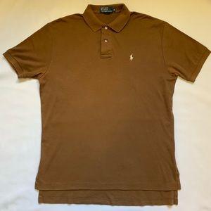 Brown Polo Ralph Lauren Shirt